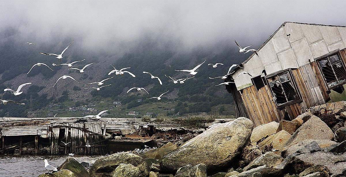 During the period of mass repressions, Nagaev Bay was used as a transit point for prisoners newly arrived by sea en route to the Magadan and Kolyma camps. Hopefully, one day these memories will be replaced by the better ones related to nature, misty sea views, and delicious fish...