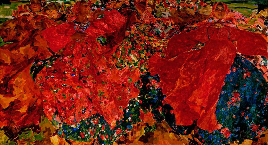 しかし、20世紀初頭になると、彼の作品を疑問視する評価がしばしば出てくるようになった。1906年世界芸術協会の展覧 会において展示された『竜巻』を、彼の同輩たちは、その当時の革命的感情に直接のつながりを持つものであると受け止めた。