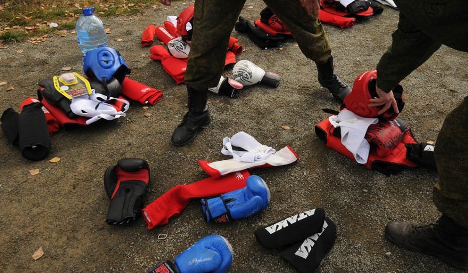 10/13. Највише црвених беретки добили су војници Сибирске регионалне команде, њих 15.