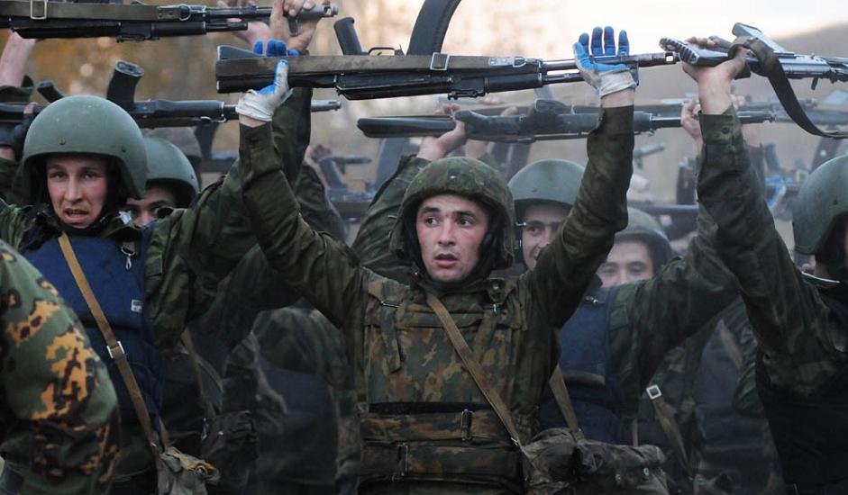 2/13. У Новосибирску област је на тестирање допутовало 70 припадника војних јединица за специјалне операције.