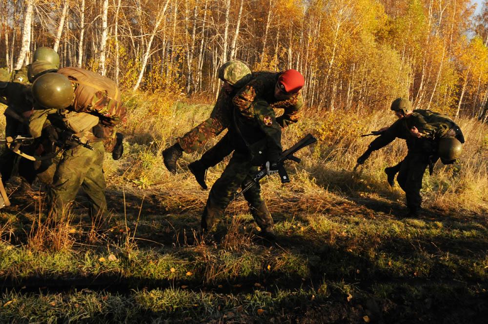 最も多くの栗色のベレー帽を獲得したのは、シベリア地域司令部に所属する15名の兵士たちだった。