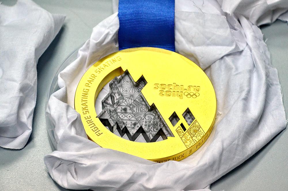 ソチ冬季オリンピックは、競技の数が史上最高であり、約1300個という記録的な数のメダルが準備される。