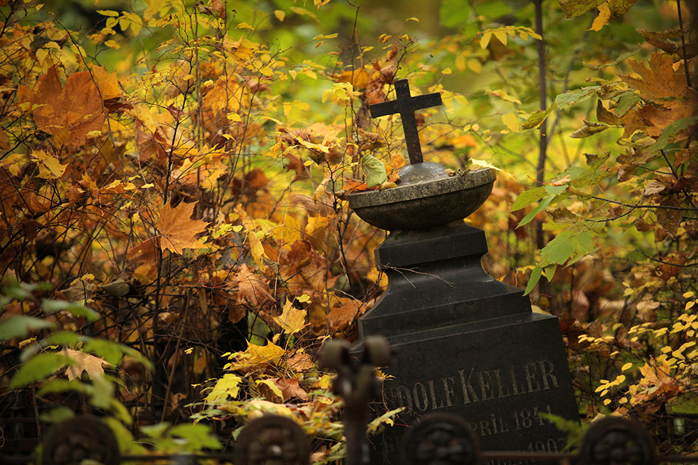 "Initially, Lutherans and Catholics were buried at the cemetery which is why it was called ""German"" or ""Heterodox."""