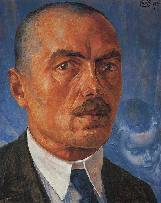 135 years ago, on November 5, 1878, in the provincial town of Khvalynsk, a baby boy was born to a shoemaker and maid: Kuzma Petrov-Vodkin (1878-1939), one of the most original Russian artists of the first decades of the 20th century. His works caused fierce controversy, ranging from enthusiastic praise to disdainful ridicule. // Self-portrait, 1927
