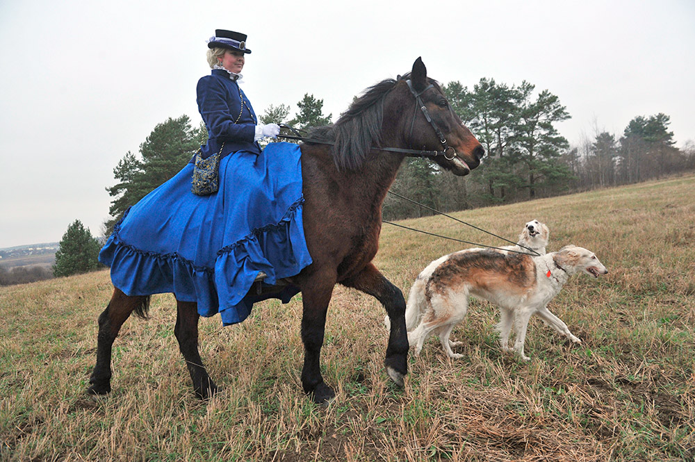 狩人達が、猟犬を放す。獲物が殺されるのを見たくない参加者がいる場合、猟犬を放すのを遅らせ、兎か狐を有利にさせる。この場合、獲物が逃げ切る事がある。