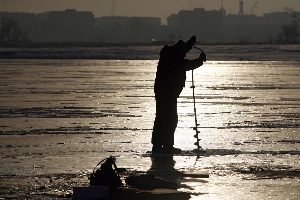 冬の釣りに最適な餌は赤虫、生餌やシラスである。茹でたジャガイモや水に浸したパンも、ルアーとして用いられる。