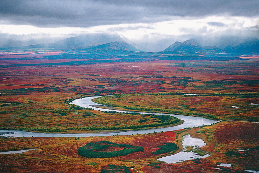 Estribaciones del Koryak, en la península de Kamchatka, año 2000.