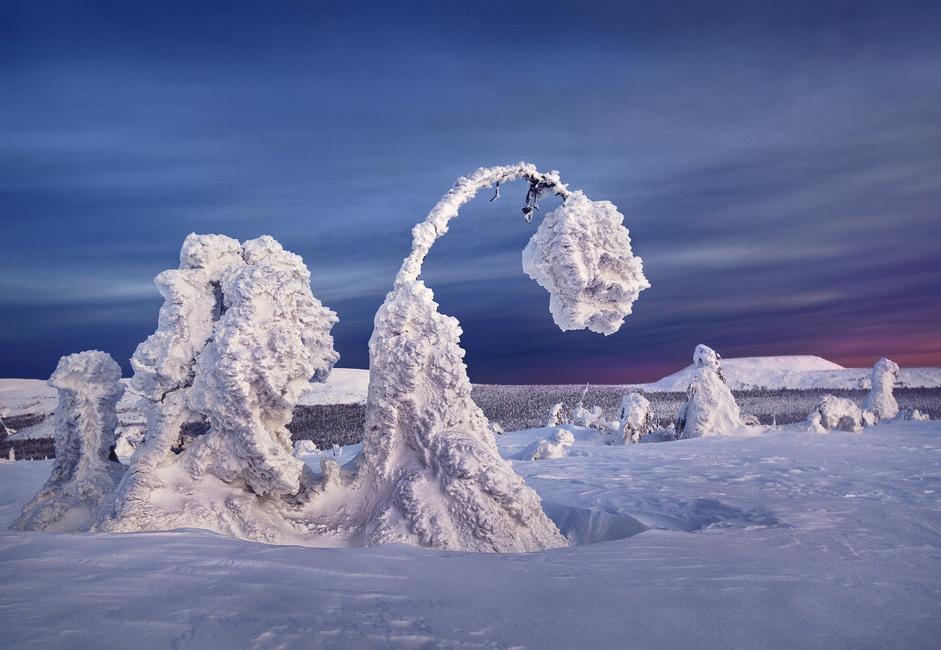 V Rusiji je ponekod tako mrzlo, da zmrzne celo vodka.