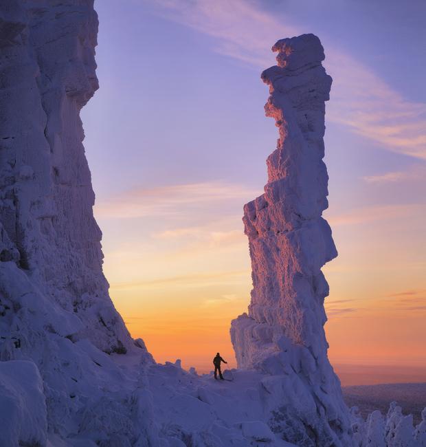 Skratka, zima v gorovju Ural je za tiste, ki ljubite skrivnosti in ekstremne športe.