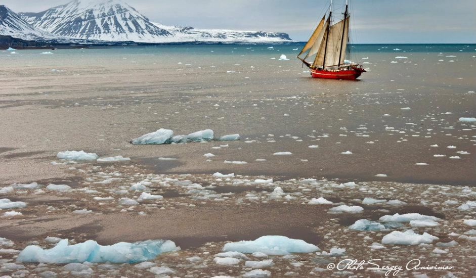 4/15. Арктик нестаје пред нашим очима. Површина и дебљина његовог леденог покривача смањују се сваке године.