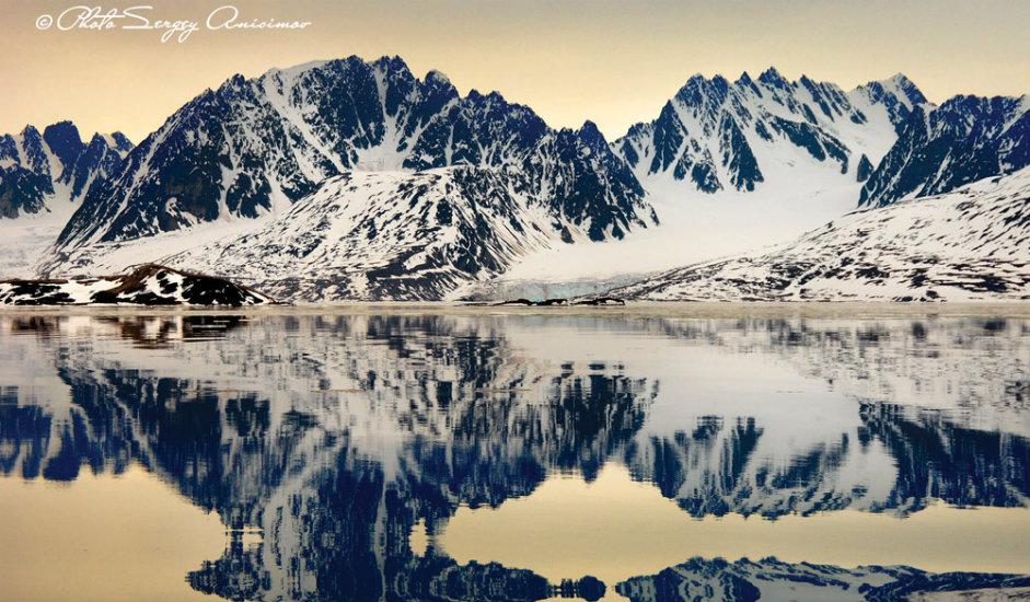6/15. Према извесним истраживањима, температура на Арктику увећава се двоструко брже од температуре у осталим крајевима света.
