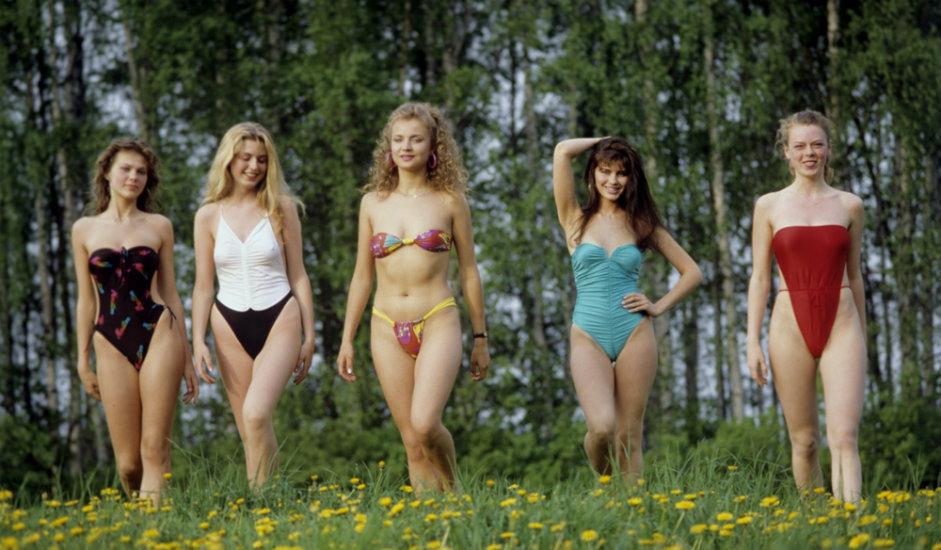 Udeleženke tekmovanja za miss Sovjetske zveze 1989