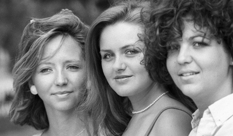 9/11. Девојке на манифестацији посвећеној сусрету омладине СССР-а и Француске 1984.