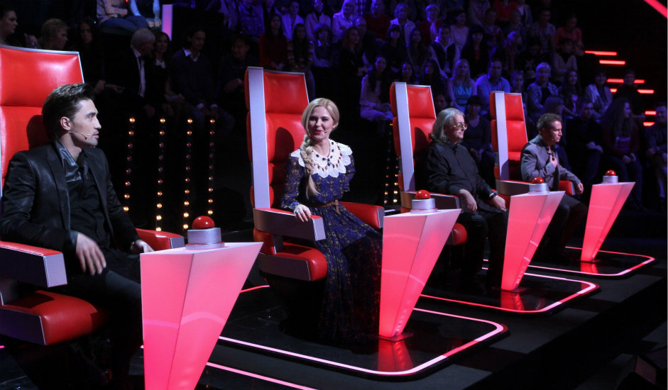 """12/12. Од 2012. учествовала је као ментор у две сезоне пројекта Првог канала """"Глас""""."""