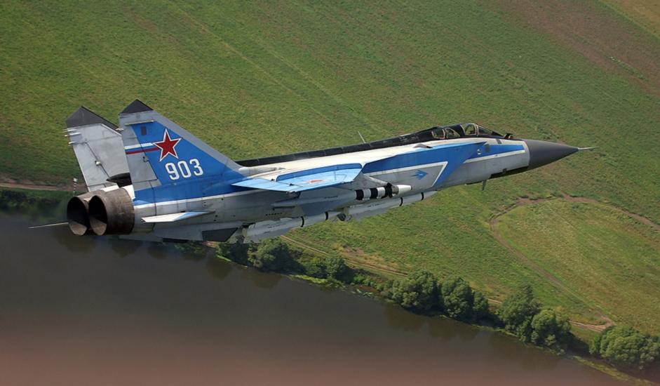 """10/11. МиГ-31 је надзвучни ловац-пресретач развијен са циљем да замени МиГ-25 (Foxbat по кодификацији НАТО-а). Конструисан је у ОКБ """"Микојан"""" на основу модела Миг-25."""
