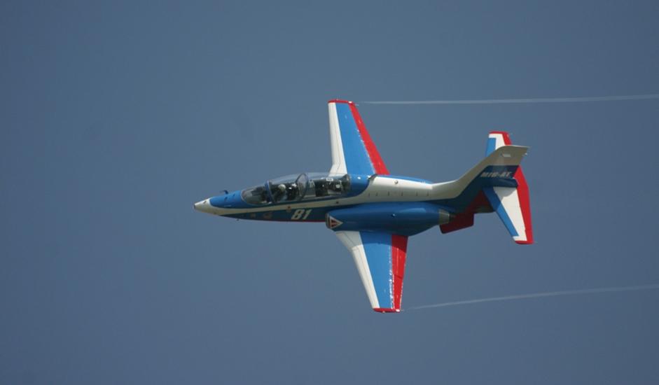 11/11. МиГ-АТ је руски тренажни авион који је први пут полетео 1996, произведен како би у Ратном ваздухопловсту Русије заменио летелице Аеро Л-29 и Аеро Л-39.