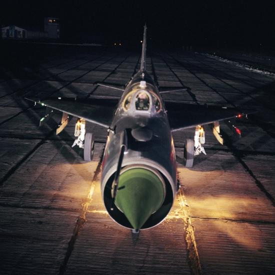 """7/11. МиГ-21 је суперсонични млазни ловачки апарат, конструисан у Совјетском Савезу у ОКБ """"Микојан"""". Због крила троугластог облика совјетски пилоти звали су га """"балалајка"""", јер је подсећао на овај руски жичани музички инструмент."""