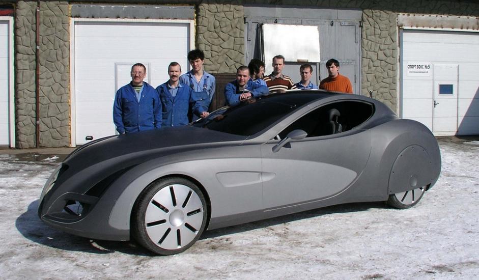 """Ruski proizvođač automobila """"Ruso-Baltik"""" (Russko-Baltijskij vagonnyj zavod) u suradnji s njemačkom tvrtkom """"Gerg"""" napravio je 2006. konceptualni automobil """"Ruso-Baltik"""" Impression. Automobil je 2006. imao europsku premijeru u hotelu Concorso d' Eleganza Villa d' Este i na Ženevskom sajmu automobila 2007. """"Gerg"""", čije se sjedište nalazi nedaleko od Münchena, za ovaj projekt iznajmio je svoj proizvodni pogon. Neke od zanimljivih karakteristika su LED svjetla i krov varijable transparentnosti. Automobil je izrađivan u malim serijama od 10 do 15 primjeraka godišnje, a vrijedio je oko 1,8 milijuna dolara. Iako je postojalo nekoliko narudžbi, do obimnije proizvodnje nije nikada došlo."""