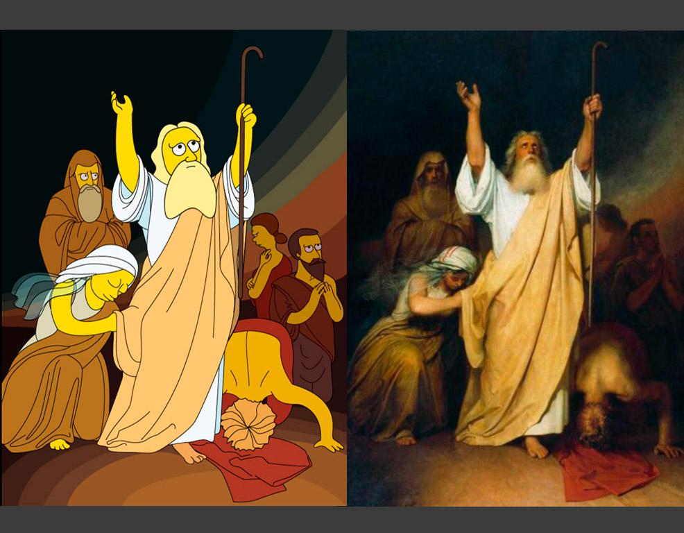 Ivan Kramskoj: Molitva Mojsijeva nakon prelaska Židova Crvenim morem