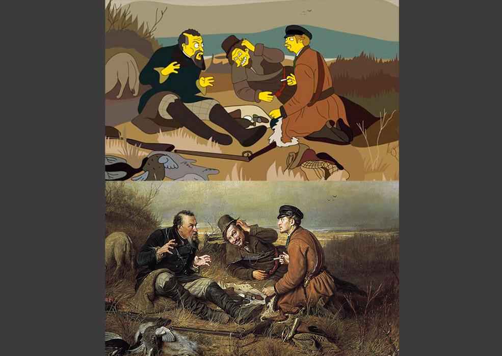 Vasilij Perov: Odmor lovaca