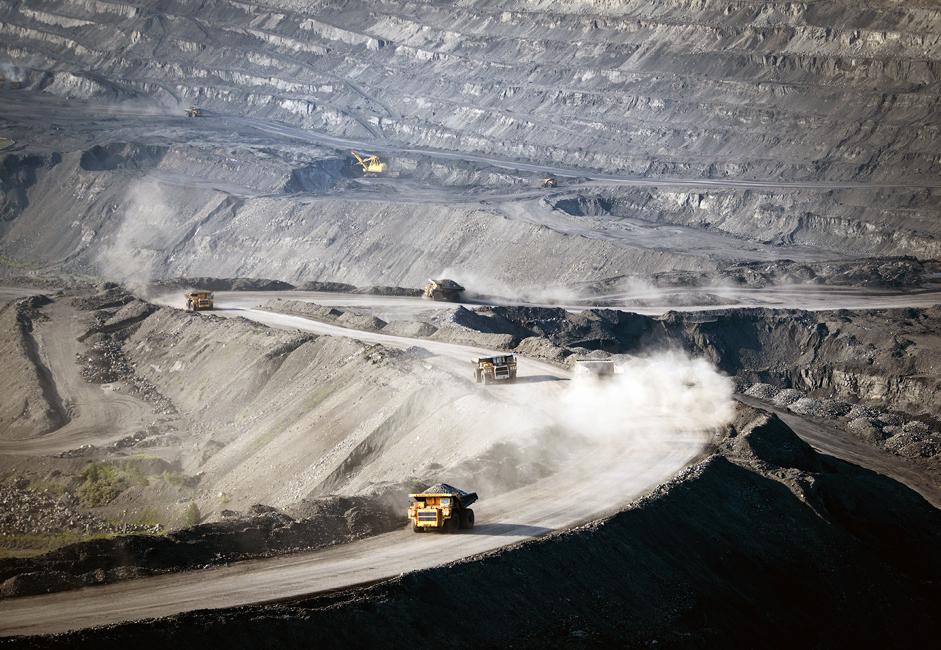 Кузбас је једно од највећих налазишта угља на свету. Налази се у Кемеровској области (Сибир) и обухвата 58 рудокопа и 36 површинских копова.
