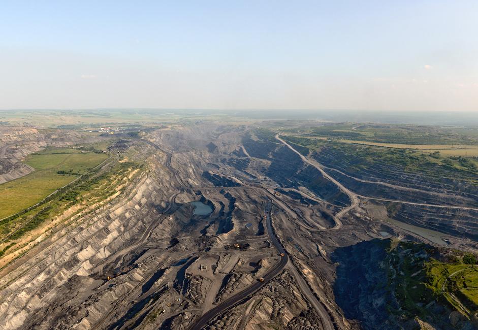 Рудник угља Талдински је тренутно један од најперспективнијих површинских копова у Кемеровској области. Његова експлоатација је кренула 1986. године и даље се активно развија.