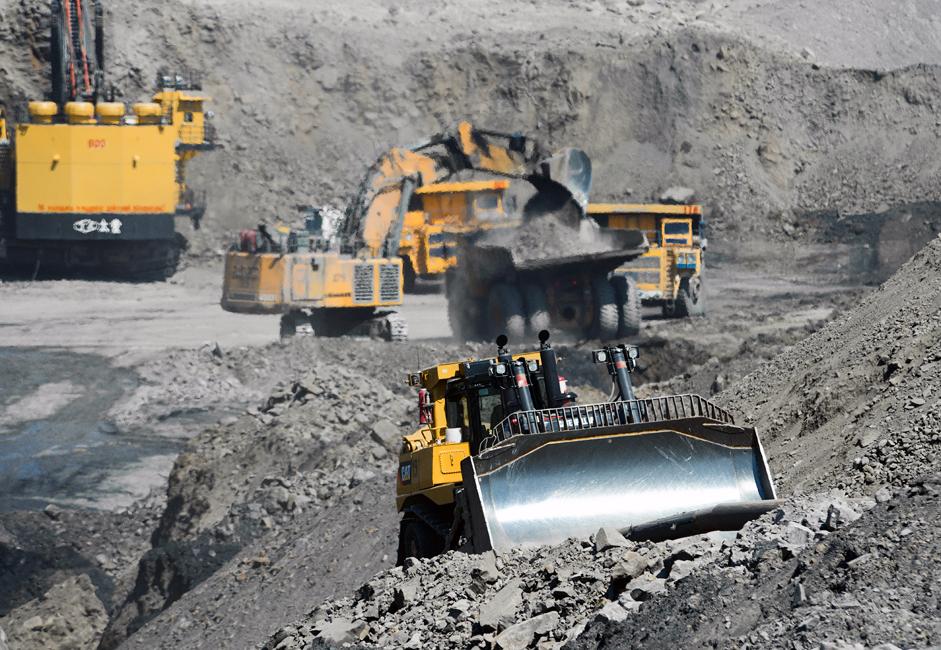 Резерве копа Талдински превазилазе 900 милиона тона. При садашњем нивоу експлоатације, око 8,2 милиона тона годишње, ове резерве су довољне за више од наредних 100 година. Овде у обзир није узета трећа линија резерви угља, која се процењује на још једну милијарду тона.