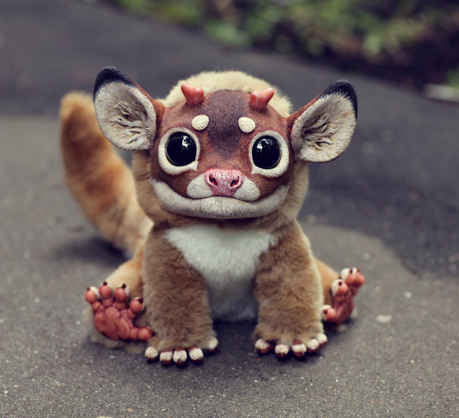 少しばかり前、架空動物のおそろしくリアルなおもちゃが外国の各種ウェブサイト上で紹介された。恐ろしいのに可愛くおもしろいイメージがメディアの注目を集めた。