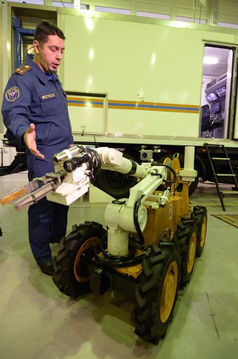 El Ministerio de Situaciones de Emergencia de Rusia (también conocido como Ministerio de Control de Emergencias o EMERCOM) ha mostrado algunos nuevos equipos de los que posee.
