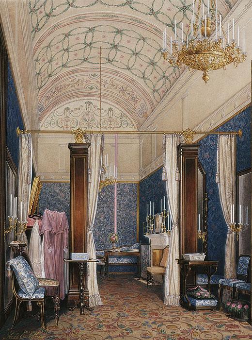 Ankleidezimmer der Zarin Alexandra Fjodorowna