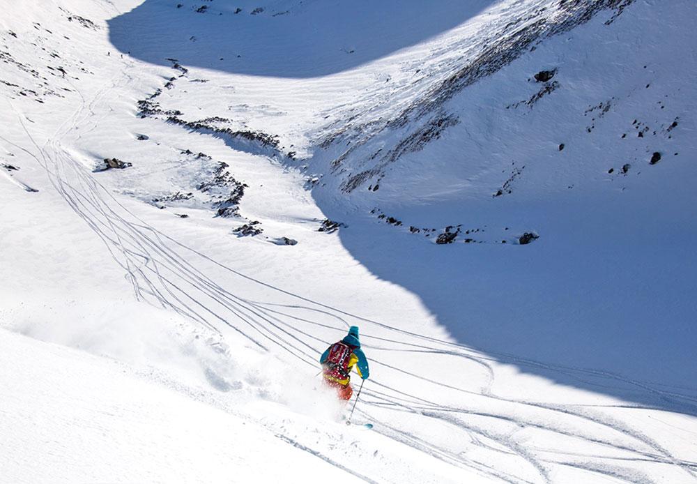 Le volcan Koriakski est en quelque sorte la Mecque du ski de randonnée. Les pistes présentent différent niveaux de difficulté, et s'adressent aussi bien aux débutants qu'aux sportifs chevronnés.