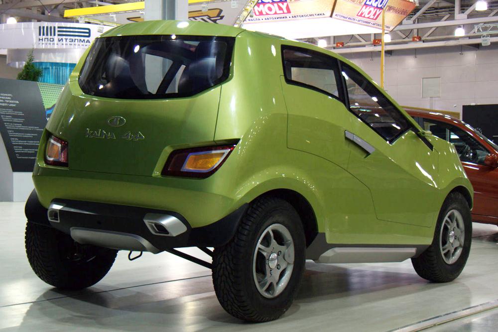 Une nouvelle série de bicorps Lada 4x4, destinée au marché de détail était prévue pour la fabrication en série autour de l'année 2017-18. Bien que très prometteuse, le géant de l'automobile russe a cependant abandonné le développement de cette Lada Kalina à quatre roues motrices présentée en tant que voiture concept en 2007. La raison évoquée, AvtoVAZ a estimé que l'ajout d'un essieu arrière nécessiterait beaucoup d'améliorations et deviendrait ainsi trop coûteux pour l'entreprise. La prudence étant de mise, le choix s'est plutôt porté sur d'autres modèles.