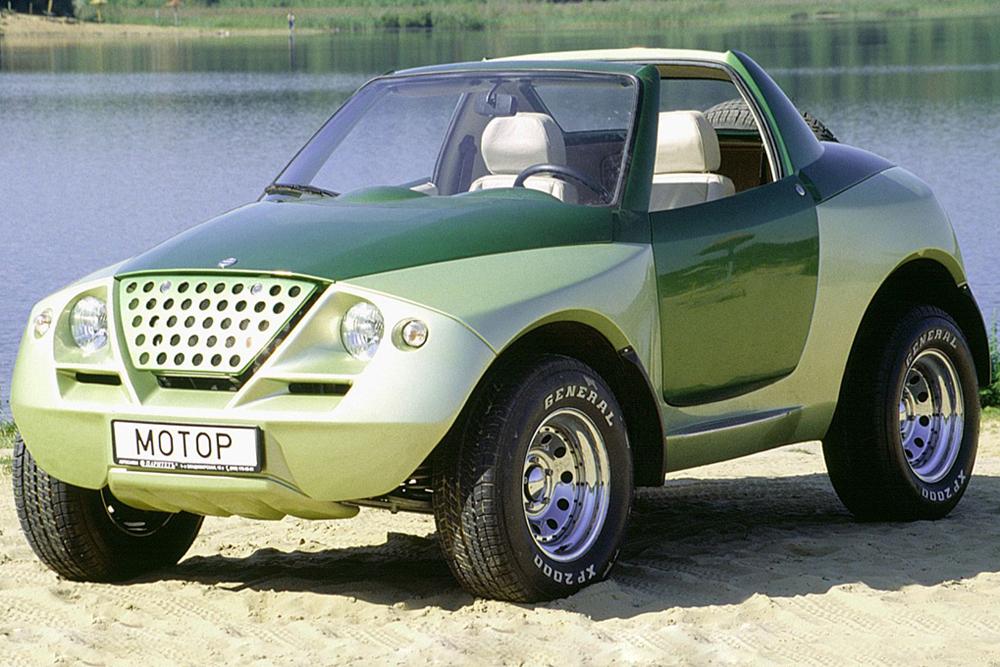 La Cardi Tetra Next, une voiture concept tout terrain pour des loisirs actifs, a été dévoilée pour la première fois en 1997. Cette voiture biplace avec une carrosserie de type Targa est montée sur une carcasse métallique, alors que le châssis est assemblé sur la base de la VAZ-2121 Niva. Bien que destiné à la fabrication en série, le modèle n'a pas dépassé le stade de concept — une autre tentative avortée par l'ingénieur Sergeï Alyshev, en dépit de son rêve de donner de l'élégance à l'industrie automobile russe.