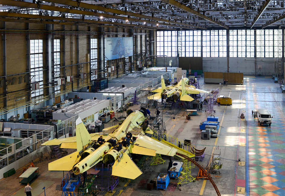 La Chkalov Novosibirsk Aircraft Production Association (l'Usine Chkalov), un des plus grands avionneurs en Russie, est membre du groupe aéronautique Soukhoï Aviation Holding Company.