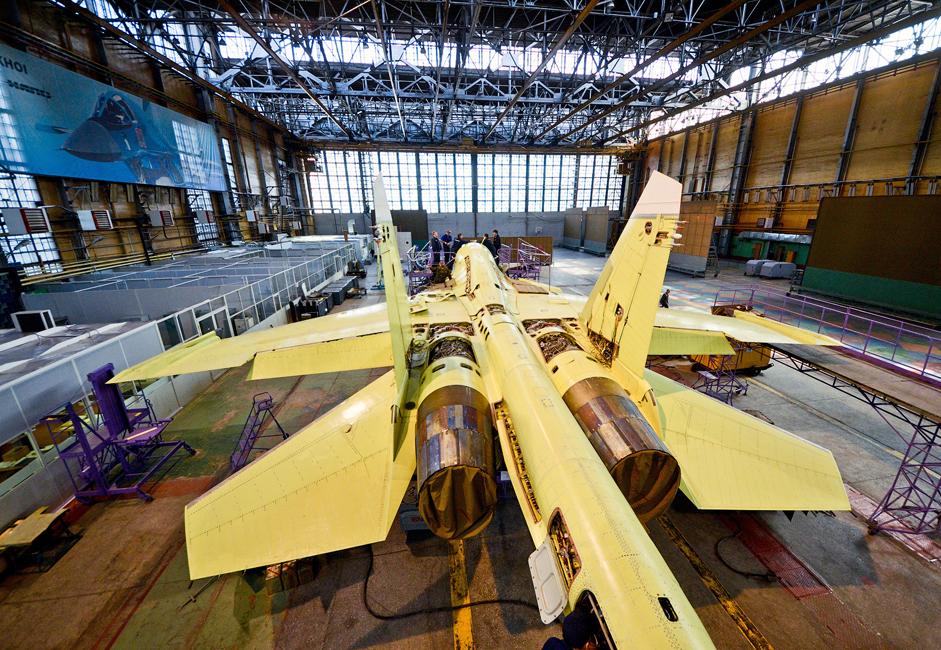 Крајем 80-их година у фабрици је почела серијска производња најмодернијег вишенаменског авиона четврте генерације Су-27IB, касније преименованог у Су-32.