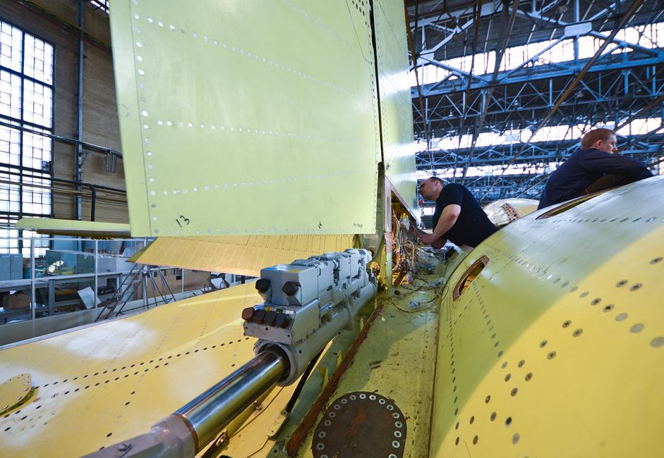 Pada awal 1990-an, produksi di pabrik Chkalov dialihkan untuk kompleks pesawat Su-34 multiguna. Pilot penguji I. V. Votintsev dan E. G. Revunov menerbangkan pesawat percobaan pertama dari lapangan terbang pabrik. Pesawat ini telah diproduksi massal untuk Angkatan Udara Rusia sejak 2006.