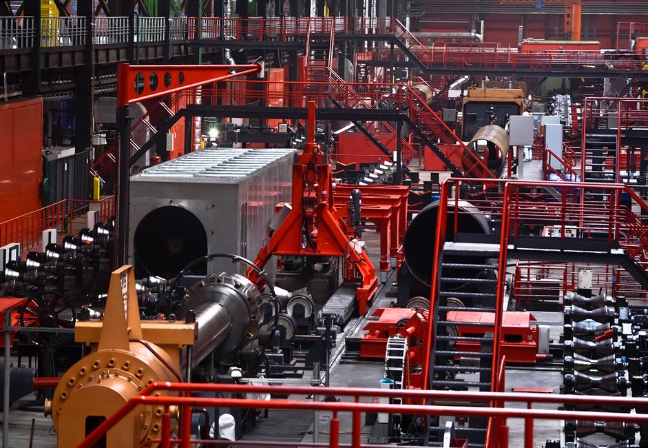 Pabrik modern dan baru ini, yang dirancang untuk menghasilkan pipa berdiameter besar Vysota 239, diresmikan pada Juli 2010. Pabrik tersebut kini mampu memproduksi 900 ribu ton pipa berdiameter besar per tahun, yang akan meningkatkan volume produksi tahunan jenis pipa ini di ChelPipe menjadi 1,35 juta ton.