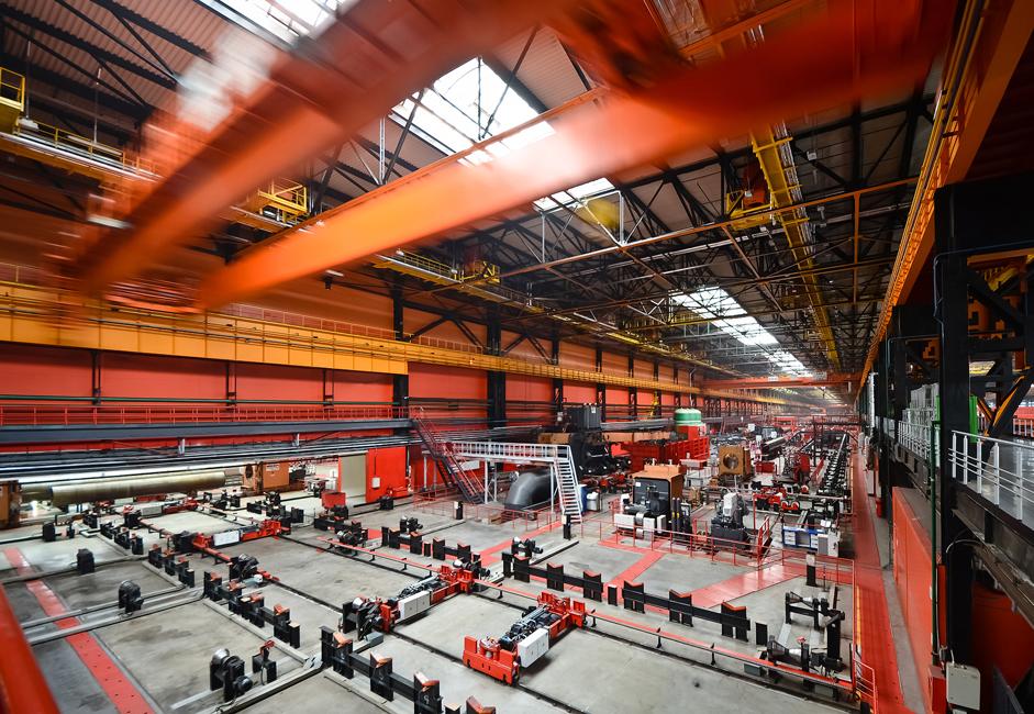 Panjang pabrik tersebut mencapai 720 meter. Pabrik ini menarik minat karena unsur-unsur desainnya yang dapat dideskripsikan sebagai berani, tak terduga, dan luar biasa. Sekitar 21 miliar rubel diinvestasikan untuk membangun pabrik tersebut dan membeli semua perlengkapannya.