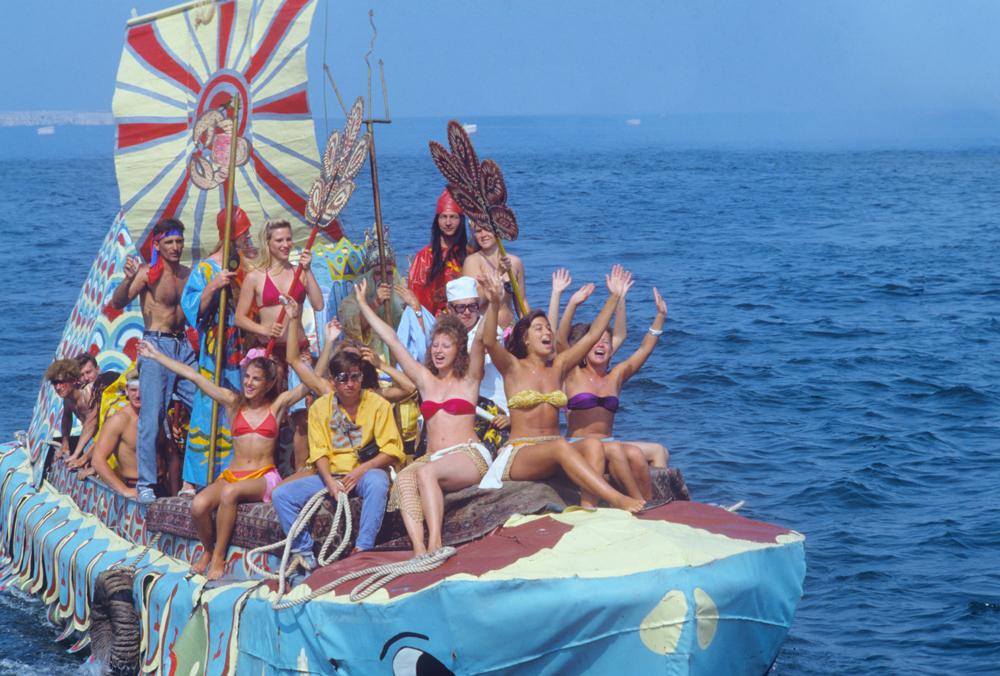 黒海のセヴァストーポリ市のフェスティバル「ネプチューンの日」(1985年)