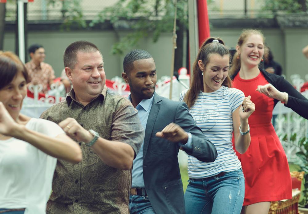 Peringatan HUT RI ke-69 juga diisi dengan Pesta Budaya dan Kreasi Rakyat Indonesia, yang dilaksanakan di KBRI Moskow dan diikuti masyarakat Indonesia dan tamu-tamu undangan asing.