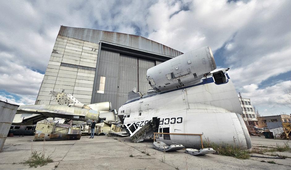 7/10. СибНИА тестира издржљивост структуре и за летелице Су-34, Су-35 и Ту-204.