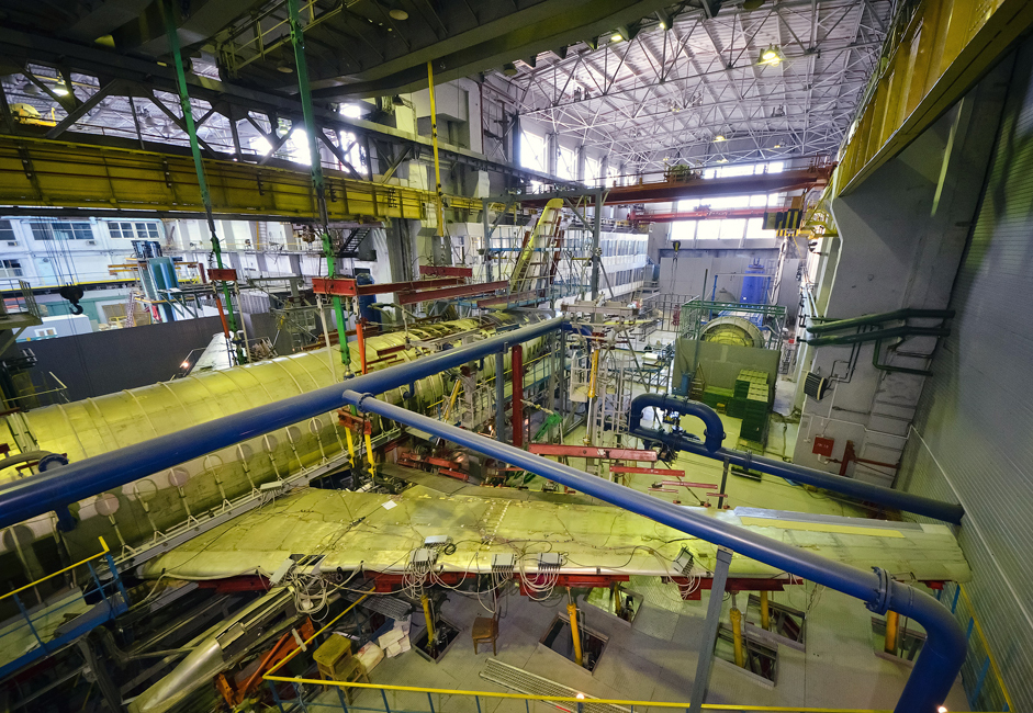 The Siberian Aeronautical Research Institute (Institut Riset Aeronautika Siberia), yang diberi nama berdasarkan nama S.A. Chaplygin (SibNIA) dan terletak di Novosibirsk, merupakan pusat penelitian aviasi terbesar di Rusia bagian timur. Misi institut ini adalah melaksanakan penelitian dan pengujian di bidang aerodinamika, kekuatan struktural, dan uji terbang pesawat udara.