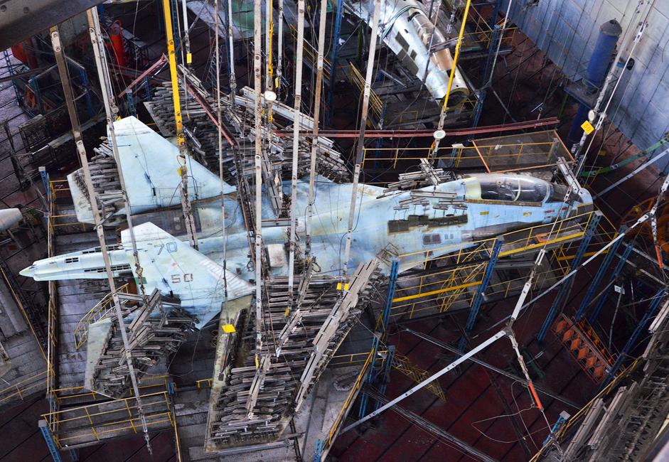 O Su-35 é um caça a jato de quarta geração para quaisquer condições climáticas.