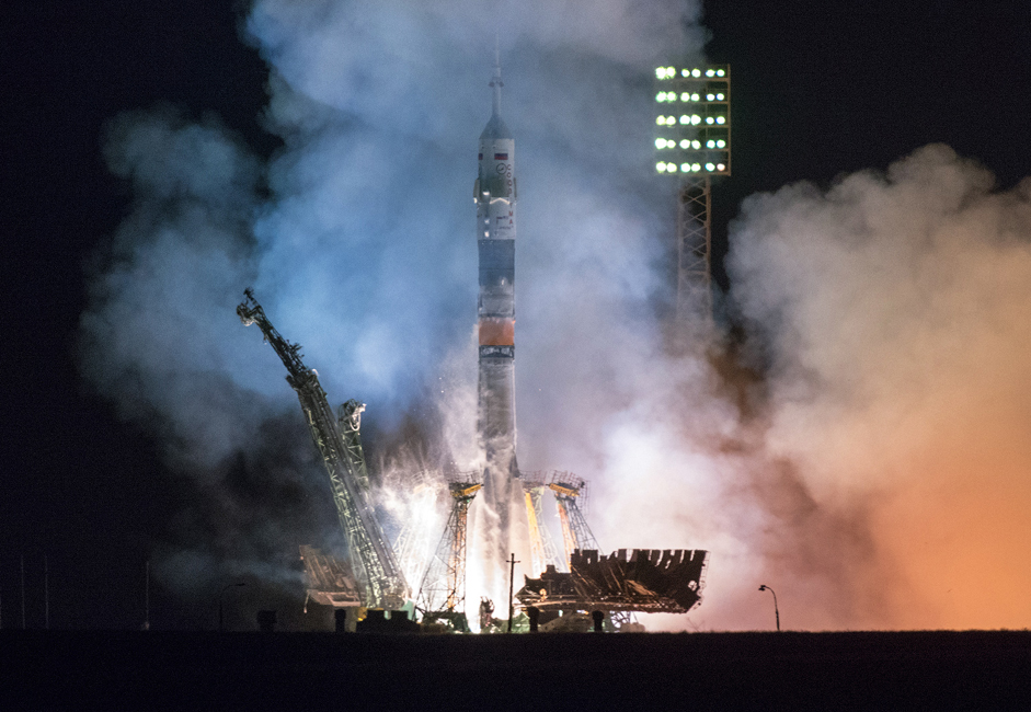 On March 26, 2014, the Soyuz TMA-12M lifted off from Baikonur Cosmodrome with two Russian cosmonauts and one American astronaut from NASA. This is the 39th expedition to the International Space Station (ISS), during which the crew will spend 169 days in orbit. While on their expedition, the astronauts will receive several cargo ships, conduct extensive scientific experiments, including 49 experiments for the Russian program and about 170 for the American program. In addition, the Russians will also launch a Peruvian mini-satellite during a launch scheduled for August.