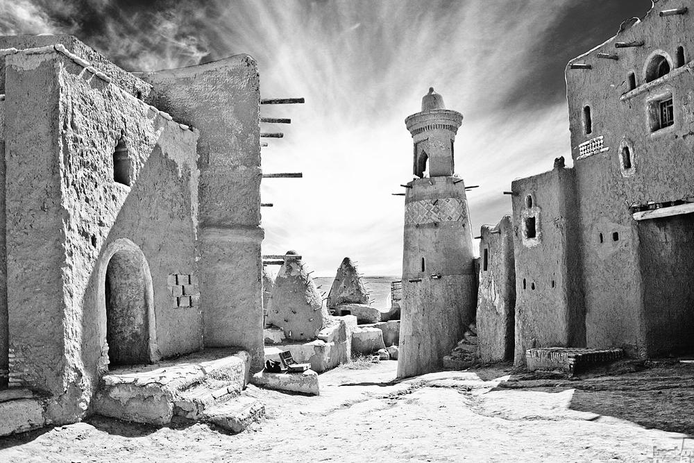 Architektur aber ist nicht nur in großen Städten beheimatet // Die alte Mongolenstadt Sarai Batu, heute im russischen Gebiet Astrachan