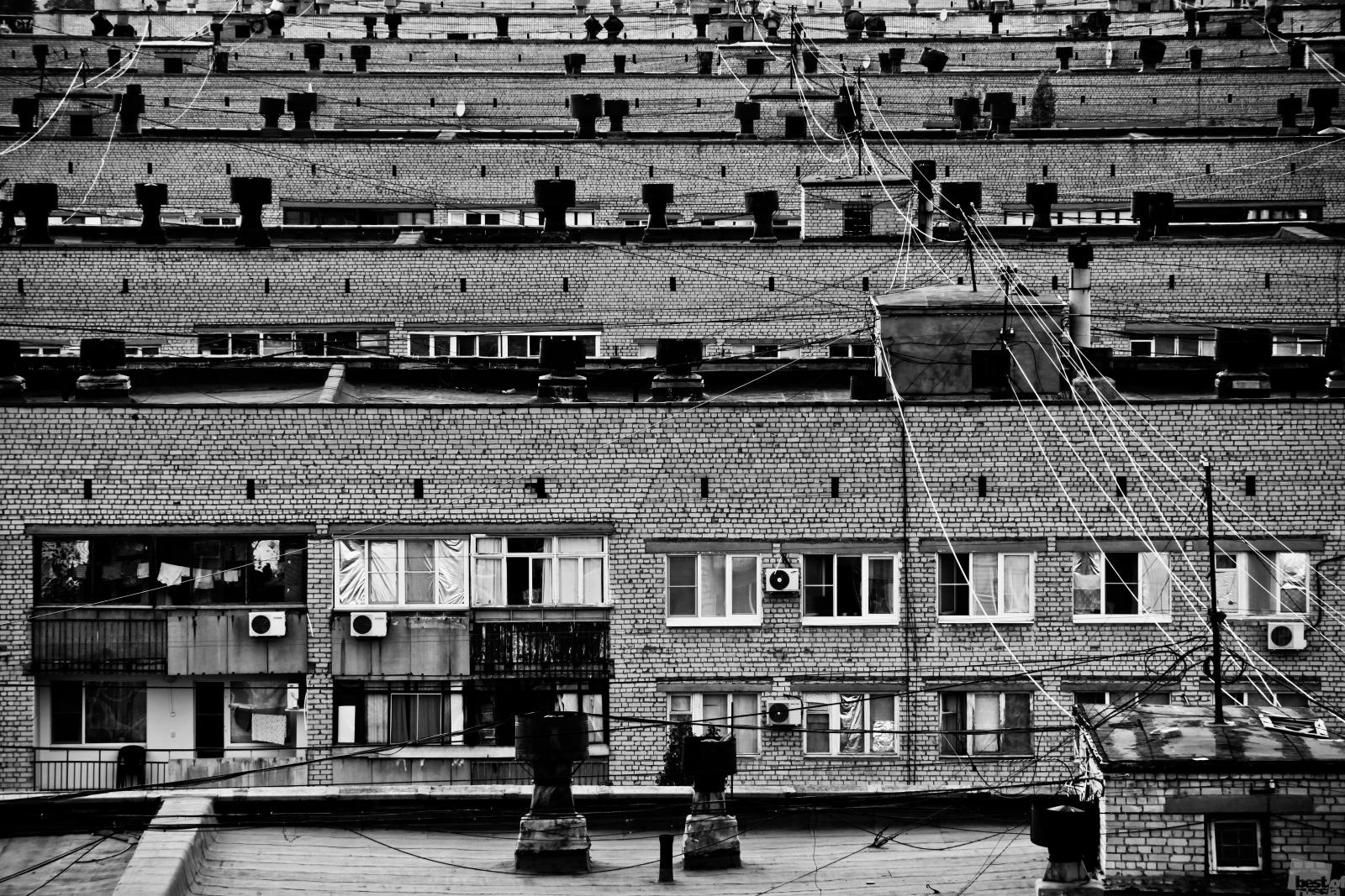 Die meisten Menschen aber leben immer noch in unterschiedlosen Betonschachteln // Das Ghetto von Wolgograd