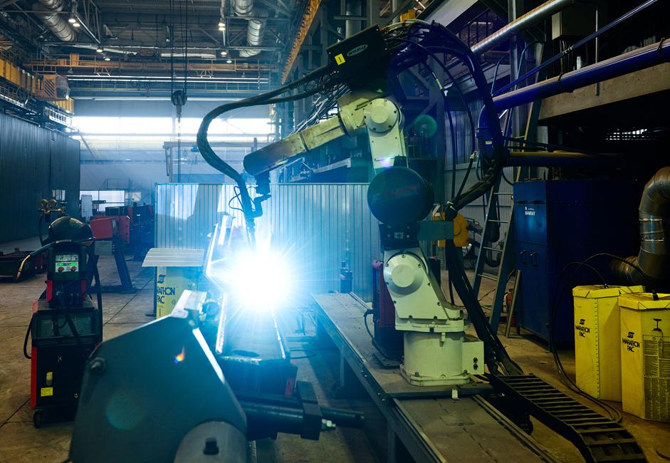 Prostori za proizvodnjo imajo velik potencial, mogoče je ustvarjati sodobna železniška vozila in izpopolniti proces.