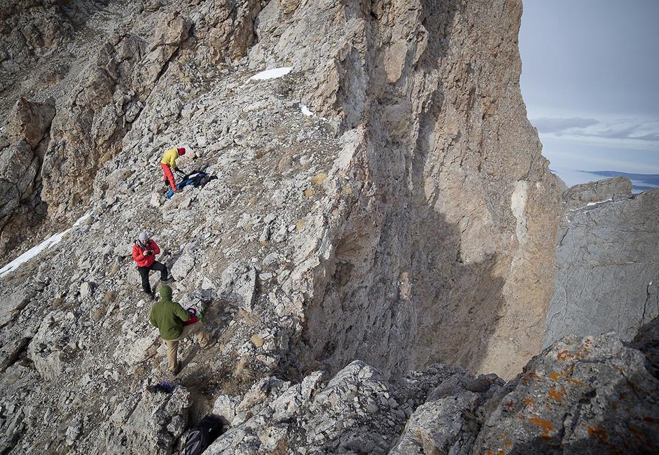 Gravir la montagne n'est pas difficile. N'importe qui ayant suivi un bon entraînement peut y arriver.
