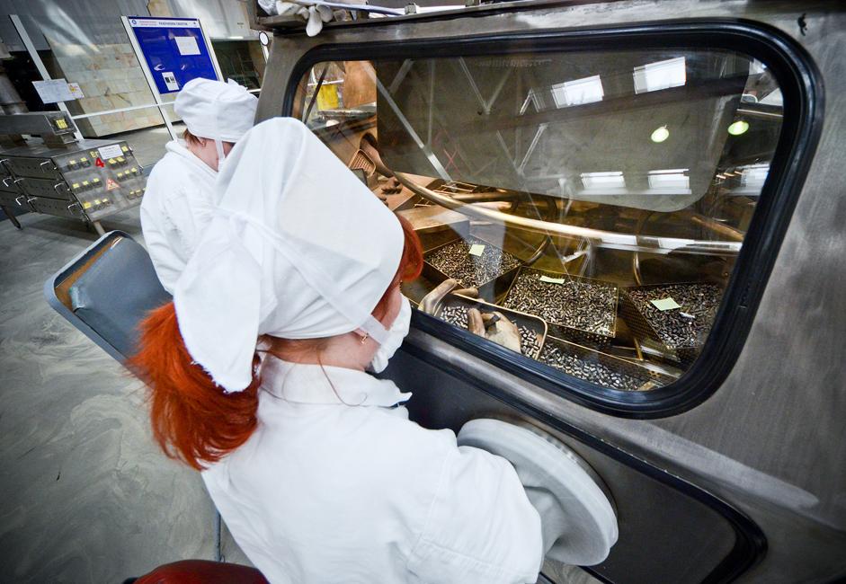 Ena uranova granula s težo 4,5 grama sprošča enako količino energije kot 400 kilogramov rjavega premoga, 360 kubičnih metrov plina ali 350 litrov nafte.