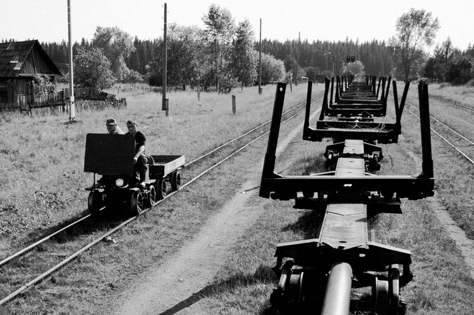 Back then, the track ran to a length of almost 600 km. For a narrow-gauge line, that is a record, except perhaps for the Sakhalin railroad (but at 1067 mm it is not strictly narrow-gauge). Since it was first put into operation, the length has been reduced to 234.